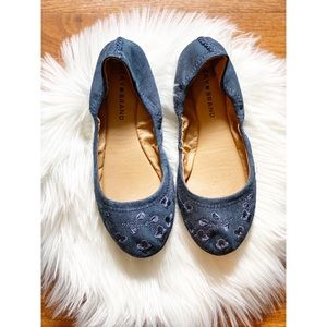 Lucky Brand | floral embroidered flats